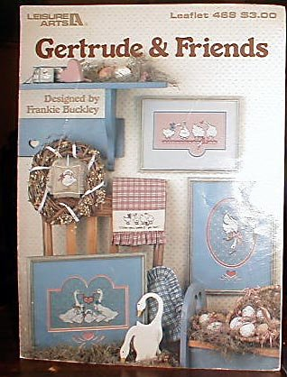 Gertrude and Friends - Cross Stitch