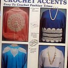 Sweatshirts..Crochet Accents - Easy to Crochet Fashion Trims