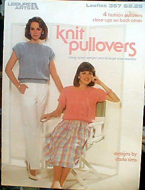 Knit Pullovers - 4 Ladies Tops