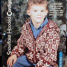 Snowflake Hooded Cardigan - NEW Knit for Kids