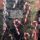 Knitted Cord Candy Canes - NEW Knit Pattern