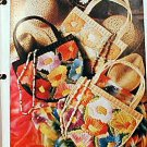 Purses - Free-Form Embroidery - Plastic Canvas Pattern