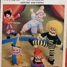 Clown-O-Rama - Crochet and Fabric