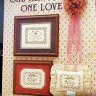 One Heart, One Love - Cross-Stitch