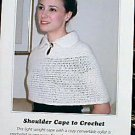 Shoulder Cape to Crochet - Great Pattern
