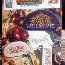 Welcome Home - Cross Stitch in MINT Condition