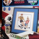 World Cup Soccer -Cross Stitch in MINT Condition