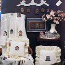 On Cobblestone Lane Victorian Homes/Gazebos - NEW Cross Stitch