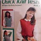 Quick Knit Vests - Book 2
