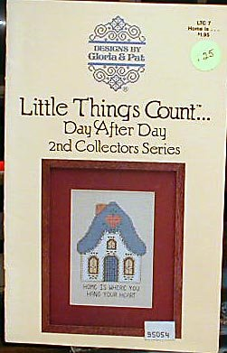 Little Things Count Day After Day 2nd Coll Series - Cross-Stitch