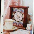 Bargello Clock -  Plastic Canvas Pattern