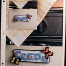 Dishwasher Magnets - EXCELLENT Plastic Canvas Pattern