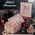 Gilded Treasures - Plastic Canvas Pattern in MINT Condition
