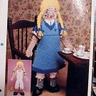 Clara Doll - EXCELLENT Plastic Canvas Pattern