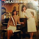 Crocheted Sweaters & Skirts - Great Patterns