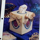 Potpourri Tissue Cover - Plastic Canvas Pattern