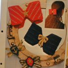 Nautical Bows - Plastic Canvas Pattern