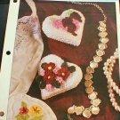Heart Boxes - Sachets - Plastic Canvas Pattern