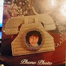Phone Photo Frame - NEW Plastic Canvas Pattern