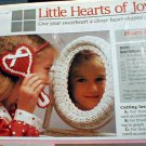 Little Hearts of Joy and Victorian Posy Pin - Plastic Canvas Loose Patterns