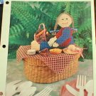 Country Girl Picnic - Plastic Canvas Pattern