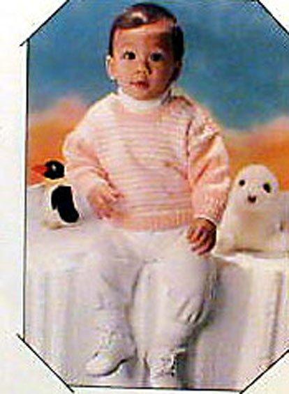 Baby Sweaters - Knit Pattern