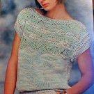 Berroco - Lacy Pullover - Knit Pattern