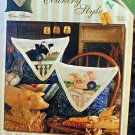 Country Style - Cross Stitch - EXCELLENT Condition