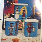 Winter Mugs - Plastic Canvas Pattern
