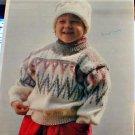 Triplex - Child's Pullover Sweater - Knit