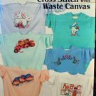 Beginner's Guide to Cross Stitch with Waste Canvas by Sam Hawkins