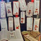 Bookmarkers - Or Just Frame Em - Cross Stitch