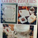 Contest Favorites from For the Love of Cross Stitch