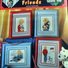 Cuddly Friends - Cross Stitch in MINT Condition