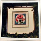 Flower Square - Cross Stitch in MINT Condition