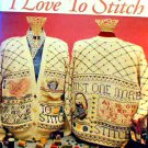 I Love to Stitch - Duplicate Stitch in EXCELLENT Condition