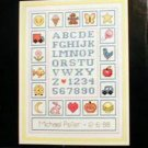 Letters and Things Learning Chart - Cross Stitch Pattern