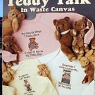 Teddy Talk in Waste Canvas