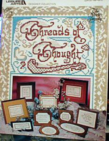 Threads of Thought - Cross Stitch in EXCELLENT Condition