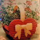 Hearts & Bows - NEW Plastic Canvas Pattern by TNS