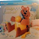 Teddy Catch-All - NEW Plastic Canvas Pattern