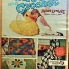 Knit and Crochet with Aunt Lydia's Heavy Rug Yarn