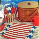 Patriotic Picnic Set - Loose Plastic Canvas Pattern