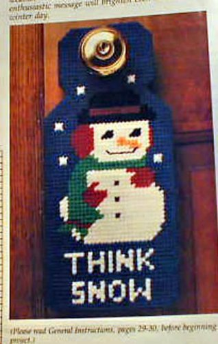 Think Snow! and Christmas Plaids - Loose Plastic Canvas Patterns
