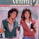 Cross Over Vests to Knit and Crochet