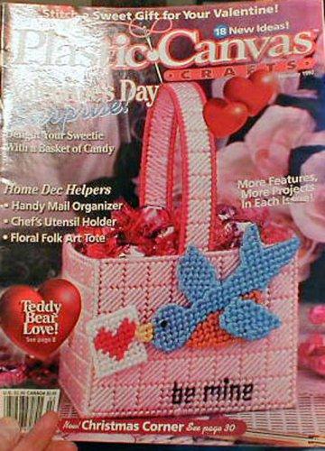 Plastic Canvas Crafts - February 1997