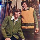 Men's Sweaters to Knit and Crochet
