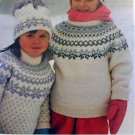 Peer Gynt - Knit Child's Pullover - No. 1708 - Knit Pattern