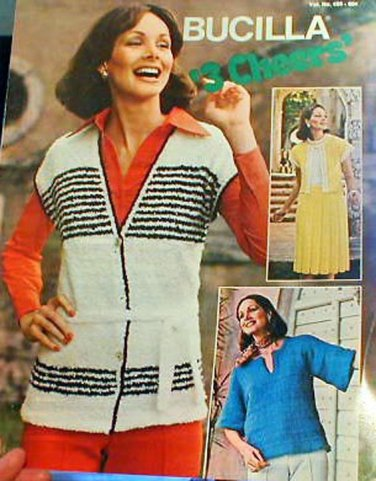 3 Cheers by Bucilla - Knit Ladies' Tops