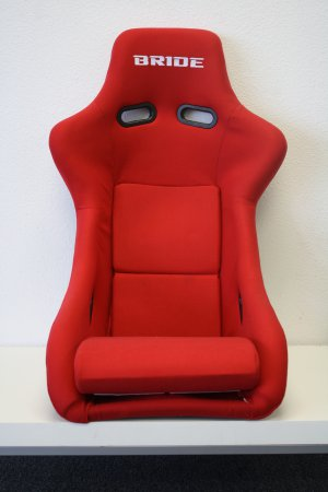 Red Bride Zeta III Racing Seat FRP Black FRP